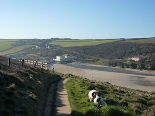 Walkers will enjoy exploring the South West Coast path