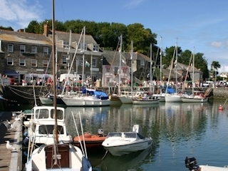 The pictureque fishing port of Padstow